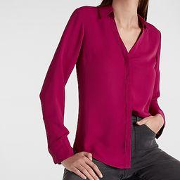 Solid Portofino Shirt   Express