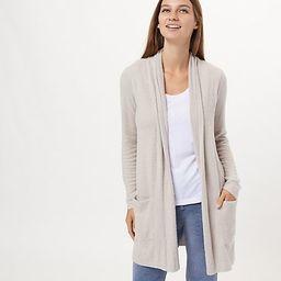 Barefoot Dreams CozyChic Lite Essential Long Cardigan | QVC