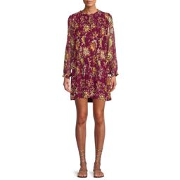 Time and Tru Women's Pleated Babydoll Dress | Walmart (US)