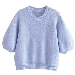 'Shea' Balloon Short Sleeve Sweater   Goodnight Macaroon