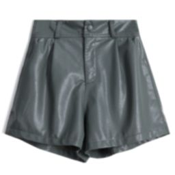 'Kara' Faux Leather Shorts (3 Colors)   Goodnight Macaroon