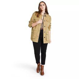 Women's Button-Front Jacket - Nili Lotan x Target Khaki   Target