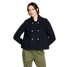 Women's Cropped Pea Coat - Nili Lotan x Target Navy   Target