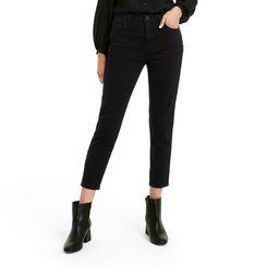 Women's High-Rise Ankle Length Skinny Jeans - Nili Lotan x Target Black   Target