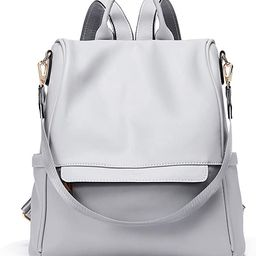 CLUCI Women Backpack Purse Fashion Leather Large Designer Travel Bag Ladies Shoulder Bags | Amazon (US)