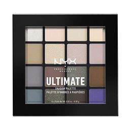 NYX PROFESSIONAL MAKEUP Ultimate Shadow Palette, Eyeshadow Palette, Cool Neutrals | Amazon (US)