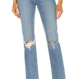 GRLFRND Karolina High Rise Straight Crop in The Valley from Revolve.com   Revolve Clothing (Global)