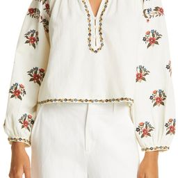 The Passage Embroidered Top   Nordstrom