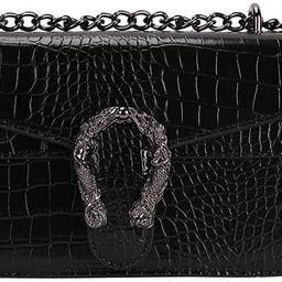 Luxury Designer PU Leather Shoulder Bag for Women Female Handbag Messenger Bag Crossbody Bags for... | Amazon (US)