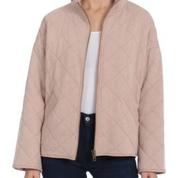 Bagatelle.NYC Women's Quilted French Terry Jacket | Walmart (US)