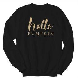 Hello Pumpkin Sweatshirt   Kell Parker