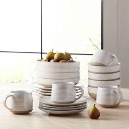 Better Homes & Gardens Abott Stoneware 16 Piece Dinnerware Set | Walmart (US)