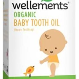 Wellements Organic Baby Tooth Oil for Teething, Free from Dyes, Parabens, Preservatives, 0.5 Fl o... | Amazon (US)