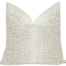 Antelope Linen Print // Cashmere | LITTLE DESIGN COMPANY