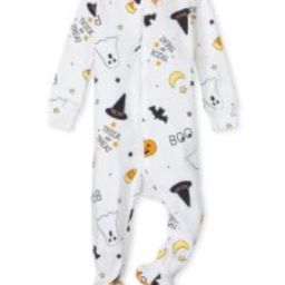 Unisex Baby And Toddler Long Sleeve Halloween Print Snug Fit Cotton One Piece Pajamas | The Child... | The Children's Place