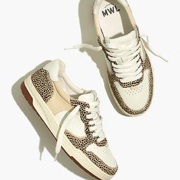 Court Sneakers in Spotted Calf Hair   Madewell