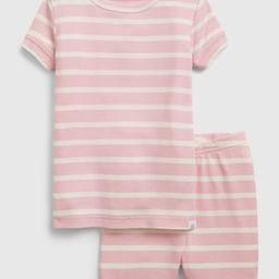 babyGap 100% Organic Cotton Stripe PJ Set | Gap (US)