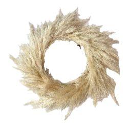 MEGAWHEELS Handmade Pampas Grass Wreath Christmas Autumn Wedding Decor   Walmart (US)