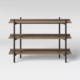 Taft 3 Shelves Console Brown - Threshold™   Target