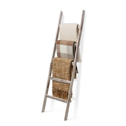 Short Birds Rustic 5ft Blanket Ladder - Farmhouse Home Decor - Quilt/Towels/Throw Wood - Decorati...   Walmart (US)