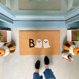 Halloween Doormat Ghost Doormat Ghost Decor Halloween | Etsy | Etsy (US)