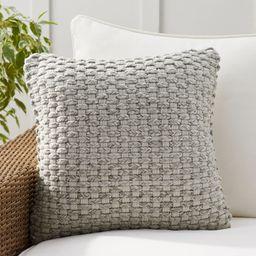 Cadyn Textured Indoor/Outdoor Pillow | Pottery Barn (US)
