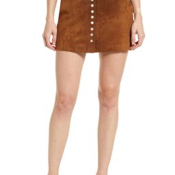 Suede A-Line Skirt | Nordstrom