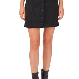Stretch Faux Suede Skirt | Nordstrom