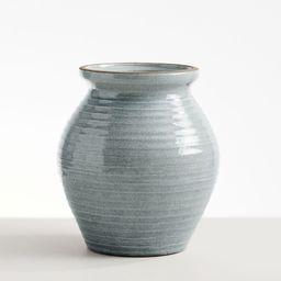 Rustic Earthenware Blue Vases | Pottery Barn (US)