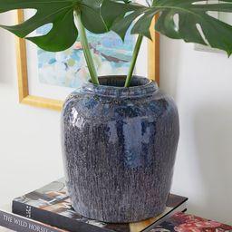 Rustic Blue Vase | Pottery Barn (US)