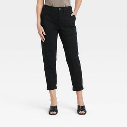 Women's High-Rise Utility Ankle Pants - A New Day™ | Target