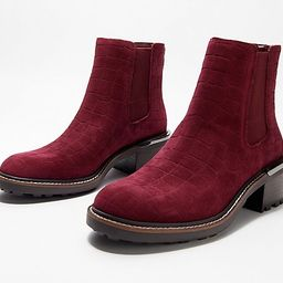Vince Camuto Leather or Suede Chelsea Boots - Kelivena   QVC