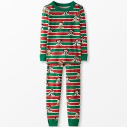 Disney Mickey Mouse Long John Pajamas In Organic Cotton   Hanna Andersson