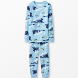Warner Bros™ The Polar Express Long John Pajamas In Organic Cotton   Hanna Andersson