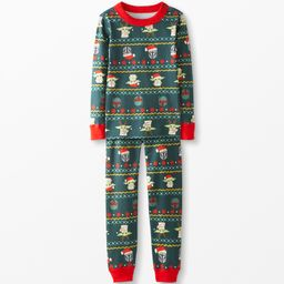 Star Wars™ The Mandalorian Long John Pajamas In Organic Cotton   Hanna Andersson