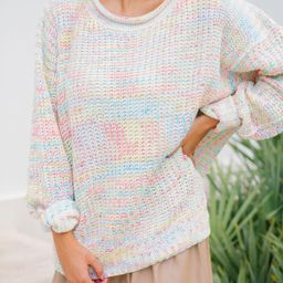 COTTON CANDY KNIT SWEATER | Judith March