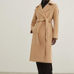 Tie Belt Coat   H&M (US)