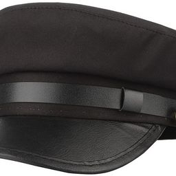 GEMVIE Unisex Classic British Flat Top Fisherman Hat Cotton Breton Fiddler Hat | Amazon (US)