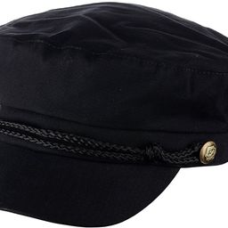 Unisex Rope Braid Trim Fiddler Sailor Greek Fisherman Hat | Amazon (US)