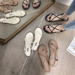 Strappy Flat Sandals | YesStyle Global