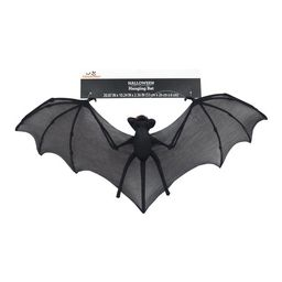 Way To Celebrate Halloween Decoration 20 inch Hanging Black Nylon Bat - Walmart.com | Walmart (US)