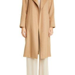 Manuela Camel Hair Wrap Coat   Nordstrom