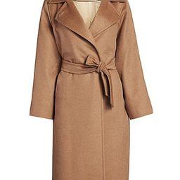 Manuela Icon Camel Hair Wool Wrap Coat   Saks Fifth Avenue
