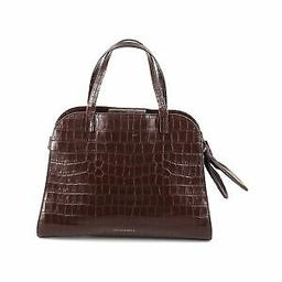 Loeffler Randall Women Brown Dark Brown Clarice Satchel Bag One Size | eBay US