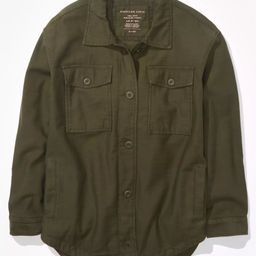 AE Military Shacket | American Eagle Outfitters (US & CA)