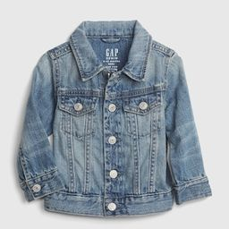 Baby 100% Organic Cotton Icon Denim Jacket | Gap (US)