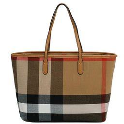 'Leanne' Plaid Pattern Tote Bag   Goodnight Macaroon