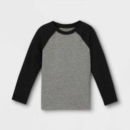 Toddler Boys' Jersey Knit Long Sleeve T-Shirt - Cat & Jack™   Target