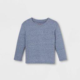 Toddler Boys' Jersey Knit Pocket Long Sleeve T-Shirt - Cat & Jack™   Target