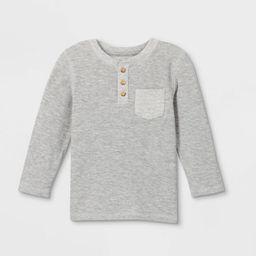 Toddler Boys' Double Knit Long Sleeve T-Shirt - Cat & Jack™   Target